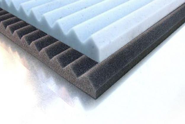 Que es la espuma absorbente Acanalada?