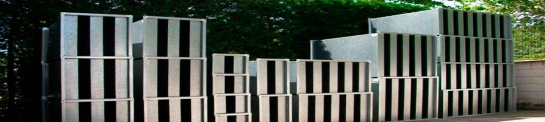 Silenciadores rectangulares SCV