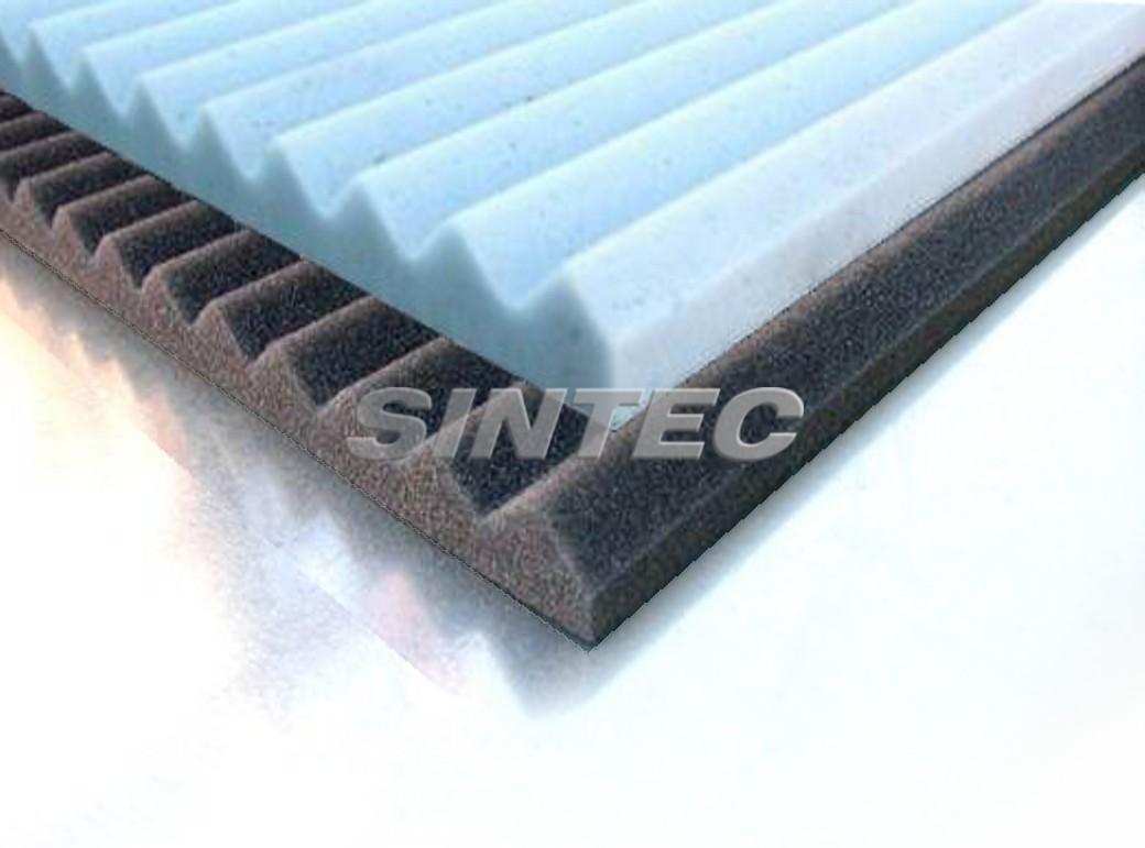 Espumas absorbentes de sonido sintec insonorizaci n - Material de insonorizacion ...