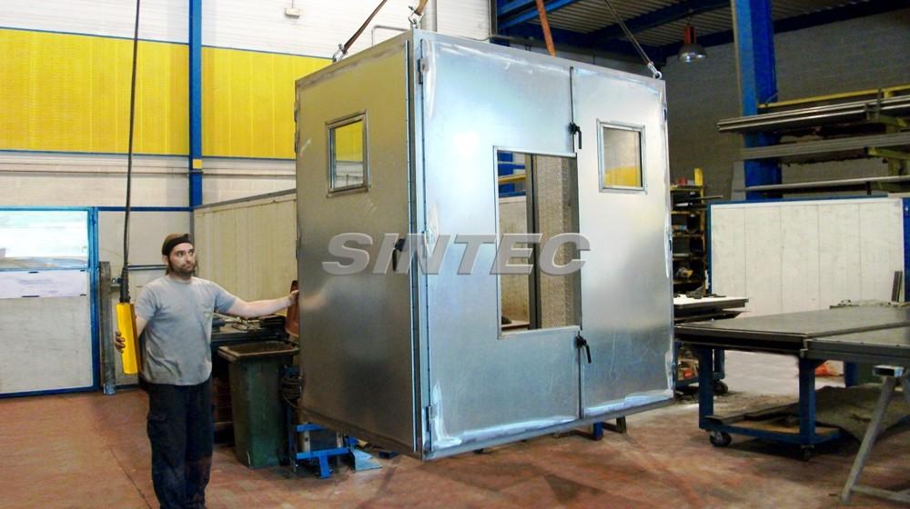 Cabinas acústicas de dimensiones especiales, adaptadas según requerimientos de la instalación