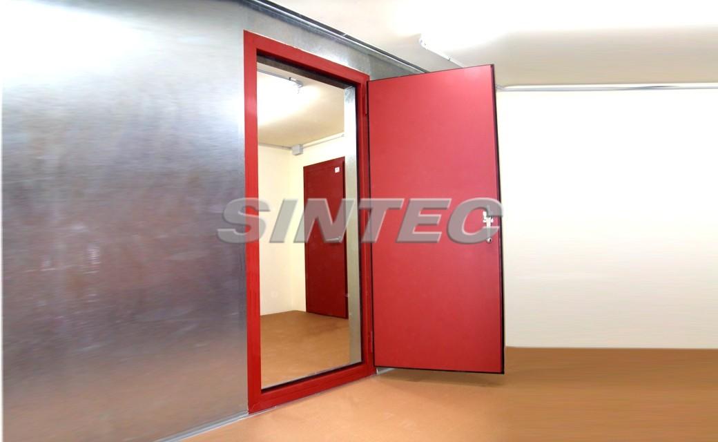 Como insonorizar una puerta materiales de construcci n - Insonorizar una pared ...