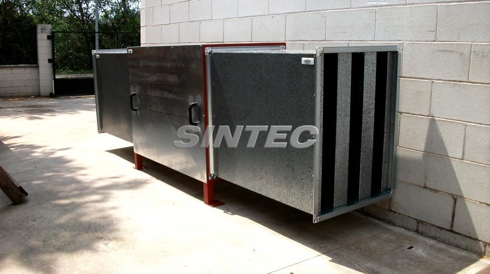 Encapsulamiento acústico integral para motores, compresores, bombas...