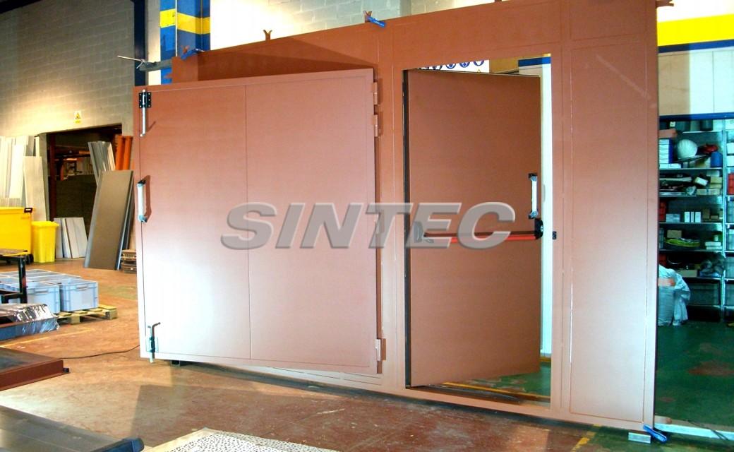 Puertas acústicas especiales