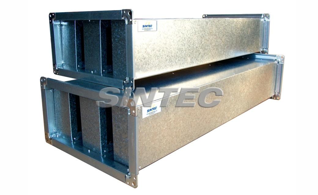 Silenciadores ac sticos scv sintec insonorizaci n for Maquinas de aire acondicionado baratas