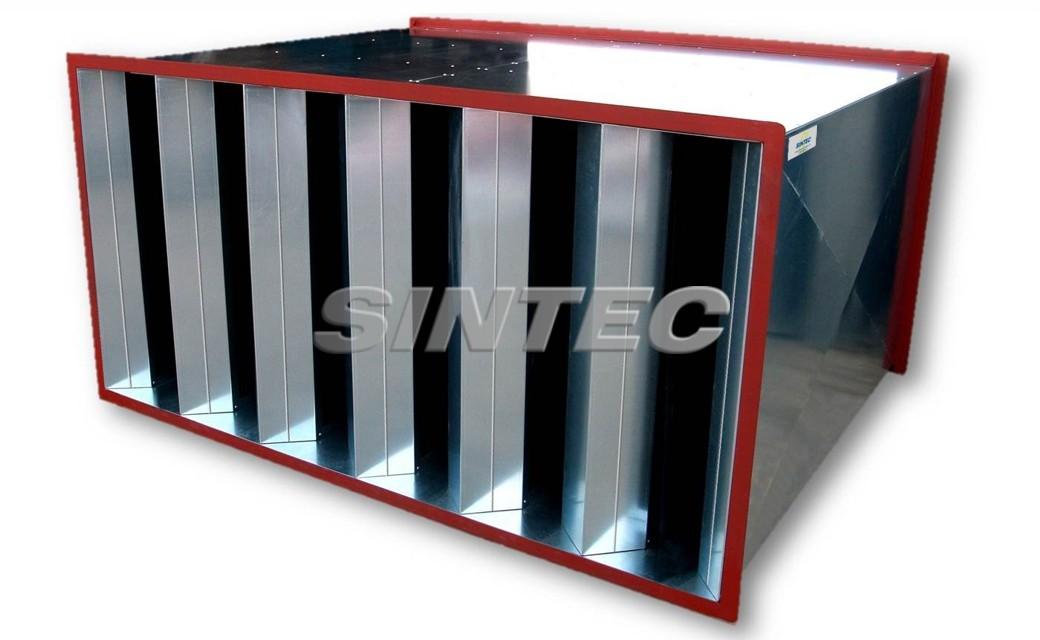 Silenciadores rectangulares SPI